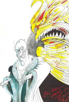 Character Designs from Hercules by Gerald Scarfe