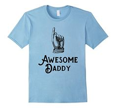 Mens Awesome Daddy T-Shirt for Father's Day | Vintage Retro: If you are looking for a great shirt for your awesome daddy, husband or father's day, look no further. The vintage retro design is a real eyecatcher and a great gift idea. This design is exclusively available here on amazon. This shirt is available for men in 5 amazing colors. Pick your variant and order now!