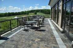 """ALGONQUIN   STONE TYPE: LIMESTONE   TOP FINISH: BRUSHED   BOTTOM FINISH: SAWN   EDGE FINISH: SAWN   DIMENSIONS: 1'X1' TO 2'X3'   THICKNESS: 1"""", 1.25"""", 2"""", 6""""   ALSO AVAILABLE IN:  COPING, TREADS, STEPS"""