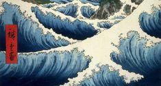Utagawa Hiroshige - Ocean off Satta (1858)