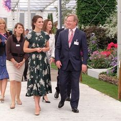 The Duchess of Cambridge dazzles as she arrives at the Chelsea Flower Show