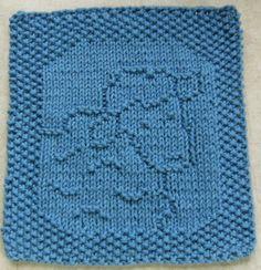 Down Cloverlaine - lots of children's washcloth and bib patterns