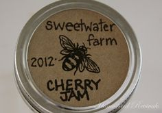 Homestead Revival: Recycled Canning Labels