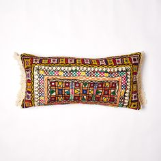 enid vintage cushion Vintage Cushions, Indian Textiles, Chain Stitch, Little People, Hand Embroidery, Soda, Printing On Fabric, Create, Unique