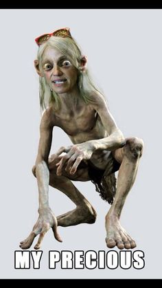 Kellyanne Conway, accurate, but unfair to Gollum...