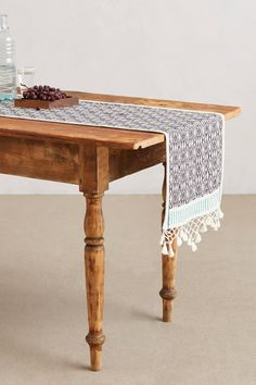 <3 fringed table runners | anthropologie