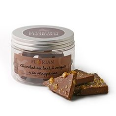Confiserie Florian - Plaques de chocolat à croquer - Chocolat Lait & Nougatine - confiserieflorian.com