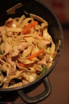 Mi-sao ou Misao ☆ cuisine malgache (carottes, courgettes, blancs de poulet ou crevettes)