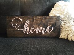 Home String Art by SBDesignShop on Etsy