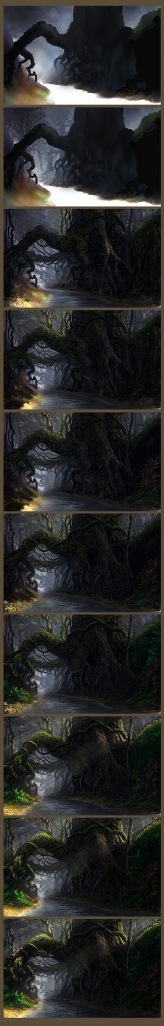Roots - step by step by ~Fel-X on deviantART