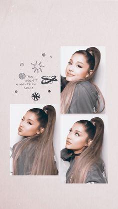 You aren't a waste of space  Ariana Grande 壁紙, Ariana Grande Pictures, Ariana Grande Background, Ariana Grande Wallpaper, Dangerous Woman, Queen, Justin Bieber, Selena, My Idol