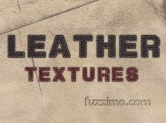 Leather Textures free and ok for commercial use