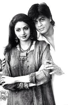 ★ Celebration 18 years of #Army ★ 28 June, 1996  With Shah Rukh Khan [ #SRK @iamsrk ] and @SrideviBKapoor pic.twitter.com/u4sbVVwf2k