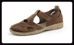 JOSEF SEIBEL - Amanda 09 - Damen Sandalen - Blau Schuhe in Übergrößen, Größe:45 - Schnürhalbschuhe für frauen (*Partner-Link)