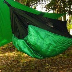 The Winter Nest Original Hammock Under Quilt (Backcountry Camping Hacks)