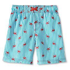 Boys' Flamingo Swim Trunks