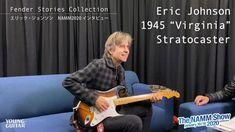 """エリック・ジョンソンがフェンダー新シグネチュア""""Virginia Stratocaster""""を語る NAMM2020 - YouTube Namm Show, Eric Johnson, I Love Him, Guitar, Peace, Rock, Music, Youtube, Musica"""
