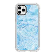 CASETiFY iPhone 11 Pro Case - Icy blue gemstone marble by oana Cute Cases, Cute Phone Cases, Iphone Phone Cases, Iphone Case Covers, Iphone 11, Smartphone Deals, Pretty Iphone Cases, Aesthetic Phone Case, Tablet
