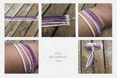 Une nouveauté le multi rangs multi couleurs.... à retrouver sur www.abricotbasilic.com