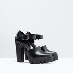 ZARA - WOMAN - HIGH HEEL TRACK SOLE SHOES