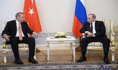 Putin meets with Turkish president in Russia