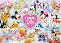 TEN-D200-894 ディズニー I WISH YOU JOY!~おめでとう!~(ミッキー) 200ピース ジグソーパズル[CP-D]