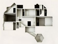 a commission by the library council of the museum of modern art...'your house' is a limited-edition artist's book with a laser-cut negative impression of his house in copenhagen.