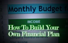 Build Your Own Financial Plan