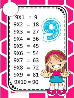 ♥ProfªAnanda♥: Tabuada Colorida! Math Games, Learning Activities, Kids Learning, Activities For Kids, Test For Kids, Math For Kids, Math Multiplication, Fractions, Kids Math Worksheets