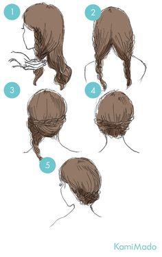 三つ編みを顔の横でとめるだけで、北欧のお姫様のようなヘアスタイルができます! Ballet Hairstyles, Nurse Hairstyles, Work Hairstyles, Braided Hairstyles, Blonde Layered Hair, Medium Layered Hair, Cute Simple Hairstyles, Pretty Hairstyles, Hair Arrange