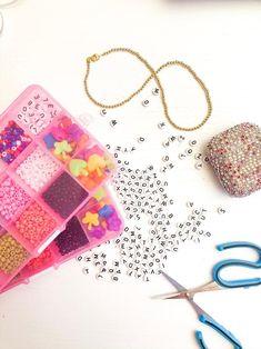 Bead Kits are fun for everyone! Get yours today! Diy Beaded Bracelets, Trendy Bracelets, Elastic Thread, Jewelry Kits, Bead Kits, Swarovski Crystal Beads, Make Your Own Jewelry, Custom Jewelry Design, Diy Kits