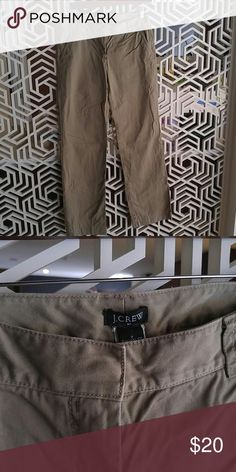 Screw favorite fit 100% cotton pant These pants fit like a chino but are thicker material. I had a ton of these for a uniform when I worked in healthcare and they are a great comfortable khaki pant that has a bit more structure than a weekend chino. They don't fit anymore and I don't work anymore! J. Crew Pants Trousers