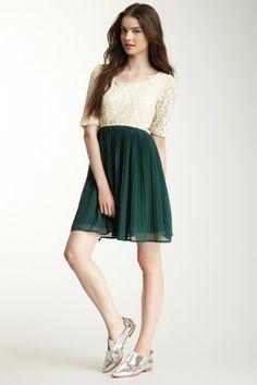 Two-Tone Lace Dress on HauteLook