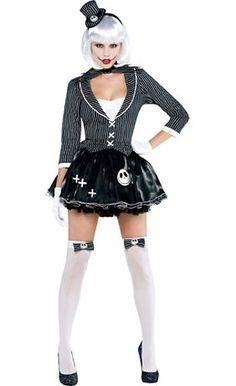 Women's Sassy Jack Skellington Costume Accessories - Party City