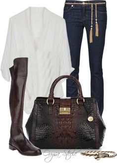 """""""A Touch of Gold"""" by orysa on Polyvore"""