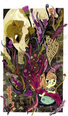 "Meg Hunt «Алиса в стране чудес» | ""Картинки и разговоры"""