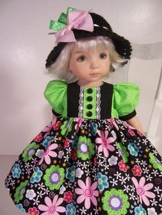 """Spring Fancy"" Made for 13"" Effner Little Darling ~ By TDDesigns"