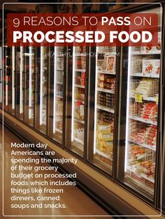 9 Reasons To Pass On Processed Food | healthylivinghowto.com DO THE BEST YOU CAN!!