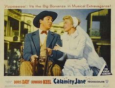 "CAST: Doris Day, Howard Keel, Allyn Ann McLerie, Dick Wesson; DIRECTED BY: David Butler; PRODUCER: William Jacobs;  Features:    11"" x 14""   Packaged with care - ships in sturdy reinforced packing material   Made in the USA  SHIPS IN 1-3 DAYS"