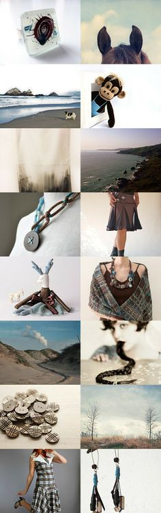 A beautiful Etsy treasury by Inese - 'This morning was cold'.  Lovely items and beautifully curated.   Pinned with TreasuryPin.com