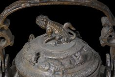 Brunei Borneo Ceremonial Bronze Kettle - Michael Backman Ltd Borneo, Kettle, Tea Pot, Boiler
