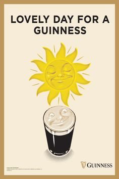 Picnics, backyard BBQ's .the warm weather is here, and so are our vintage Guinness ads, adding some sunshine (and some fun) to your summer! This poster features Guinness artwork pulled from our…More Guinness, Barbacoa, Vintage Advertisements, Vintage Ads, Garden Ideas Eyfs, Backyard Bbq, Wall Collage, Warm Weather, Weather Check
