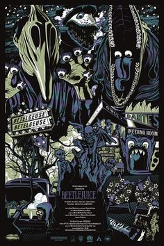 Beetlejuice (GID) by Anthony Petrie available at the Three Barrels shop.
