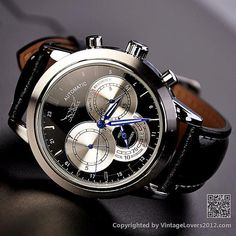 #PerfectWatch:Mens Black Watch
