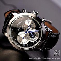Mens Black Watch (WAT0093-BLACK) op Etsy, 26,40€