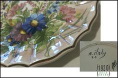 Loza Italiana. Mas info, medidas y precios acá: http://1920decobazar.blogspot.com.ar/2014/07/vajilla-antigua-platos-loza-italiana.html