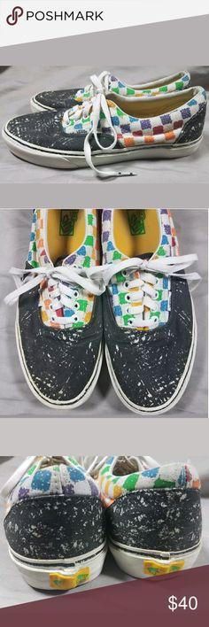 ea086607c9b1 Vans Era X Crayola collaboration sneakers mens 9.5