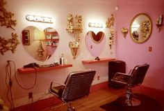 Salon salon-inspirations, love these mirrors can't wait to start back to school!!