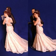 #topodebolohumanizado #noivinhosparatopodebolo #casamentofeliz #noivamédica #noivoengenheiro #estetoscópio #noivosfelizes #weddingcaketoppers #topcake #vestidodenoiva #noivasfelizes