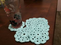 Crochet Coasters - free pattern by Sandi Marshall